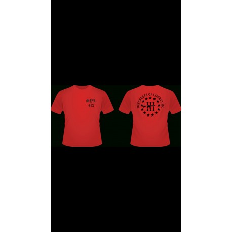 Support Your Local (SYL) DOLMC T-Shirt (RED)